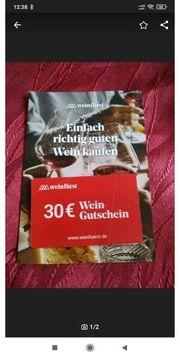 Gutschein Weinfürst 30
