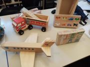 Holzspielzeug Weihnachtsgeschenk neu
