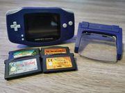 Ebay Gameboy Advance mit Zubehör