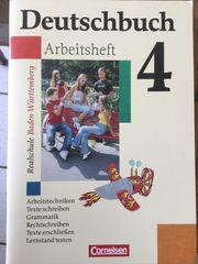 Deutschbuch Arbeitsheft 4 von Cornelsen