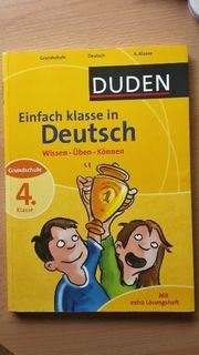 Deutschübungsbuch 4 Klasse