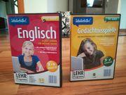Lern DVDs Englisch und Gedächnisspiele