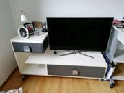 TV-Kommode Sideboard mit Rollen