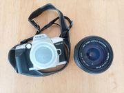 Spiegelreflexkamera MINOLTA DYNAX4 mit SIGMA