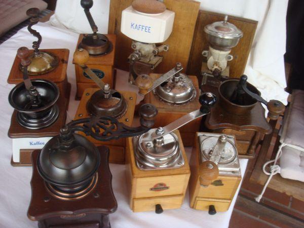 alte Kaffeemühlen 16EUR