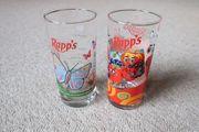 Verkaufe 2 Rapps Gläser Starke