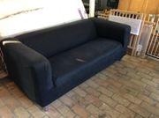 Klippan Sofa in schwarz