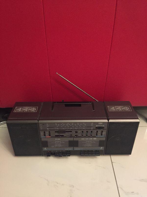 Ghettoblaster ITT Radio super Kassette