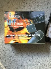 Professional Wireless Microphone System 9c