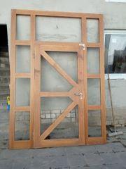 Türelement Hauseingangstür Tür mit Rahmen