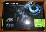 Gigabyte Geforce GT730 Grafikkarte mit