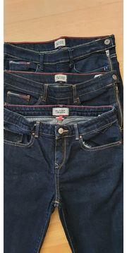 3 Jeanshosen Mädchen Hilfiger 164