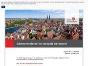 Gärtnermeister -in m w d