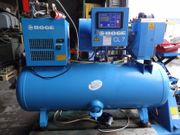 Schraubenkompressor Boge CLD7 Nur 11100