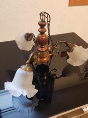 Hängelampe Deckenlampe nostalgisch 3-flammig
