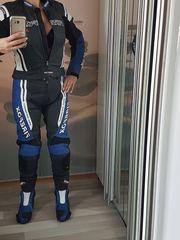 Motorradkombi 2teilig mit Stiefel und
