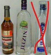 Sammlungsauflösung 1 Flasche Wodka
