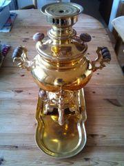 Original Persische Holzkohle Samowar für