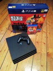 PlayStation 4 Pro Red Dead