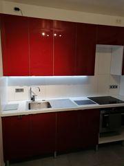 Ikea Faktum Küchenfront in glänzend