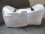 Tasche weiss unbenutzt Reisetasche oder