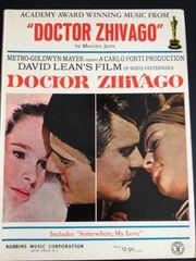 Klaviernoten Doctor Zhivago