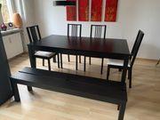 IKEA Bjursta Holz Tisch verlängerbar