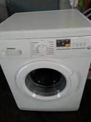 saubere und überholte Siemens Waschmaschine