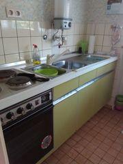 Küche Einbauküche Küchenzeile Retro Haushaltsauflösung