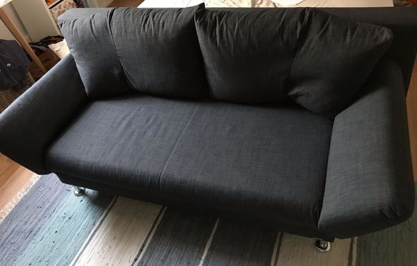 Querschläfer-Couch Federkern Top