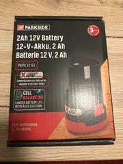 Parkside X12V kleiner Akku 2Ah