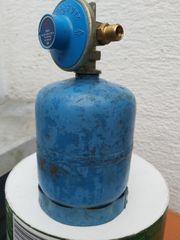 Campinggastauschflasche Typ 901 mit Regler