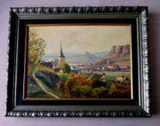 Gerolstein Eifel tolles altes Gemälde