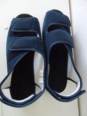 Verbandschuhe orthopädisch von Promed marineblau