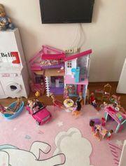 barbiehaus mit zubehöe