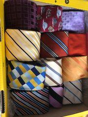 Diverse Krawatten - einwandfrei div Designer