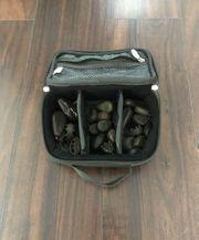 Bleitasche Tackle Karpfenbleie mit Pelzer