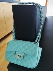 Damen Handtasche türkis