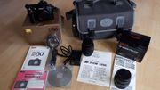 Verkaufe Nikon D50 mit zwei