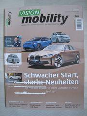 NEU ungelesen Zeitschrift Vision mobility