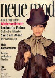 6 Modezeitschriften 1960er-Jahre Neue Mode