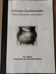 Buch - Geheime Zaubertränke Fra Daniel -