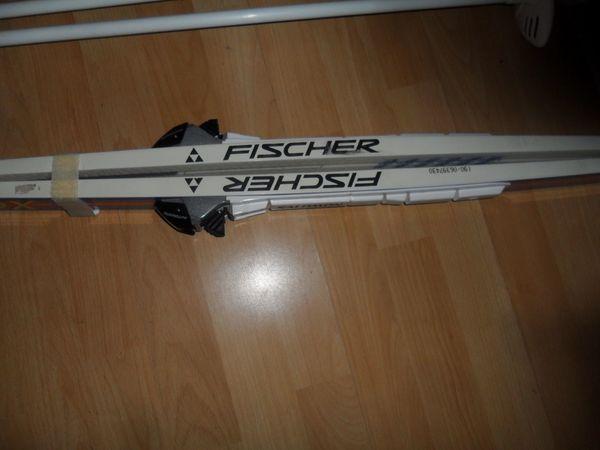 2 Langlaufski Fischer Salomon XC
