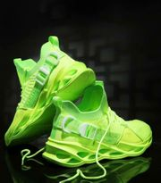 Neon Lime Schuhe