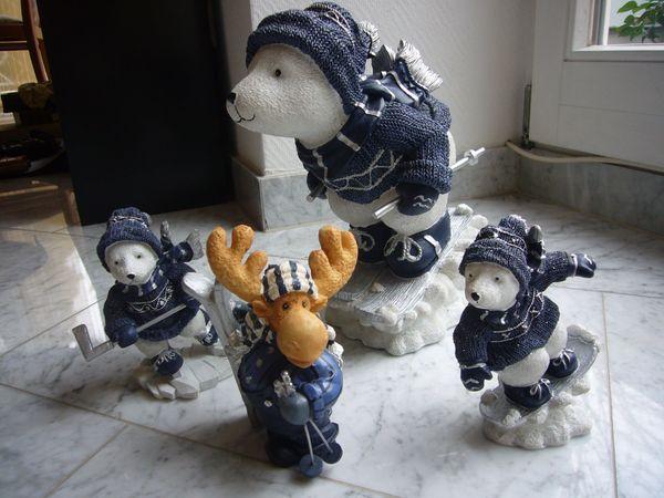 Weihnachtsdeko Eisbären