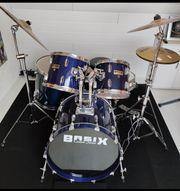 Schlagzeug Set Basix Komplett Becken