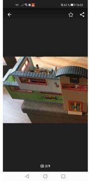 verkaufe große Playmobil Schule mit