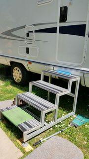 Alu-Treppe für Wohnmobil