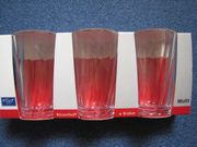NEU - 3 Longdrink-Gläser von Flirt