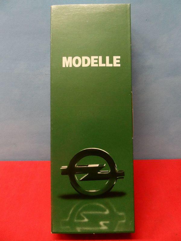 Modellauto Set - Opel Herpa Sonderpackung 1